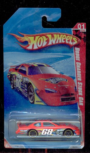 Hot Wheels 2010-169/240 Race World Speedway 01/04 Dodge Charger Stock Car 1:64 Scale 1:64 Scale