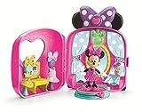 La Casa de Mickey Mouse - Tienda Maletín de Minnie, Figuras y Set de Juegos (Mattel Y5145)