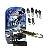 Image:Coolcycling 6 Pack Zipper Replacement | Universal Zipper Repair Kit | Universal Zipper Head Zipper Tool