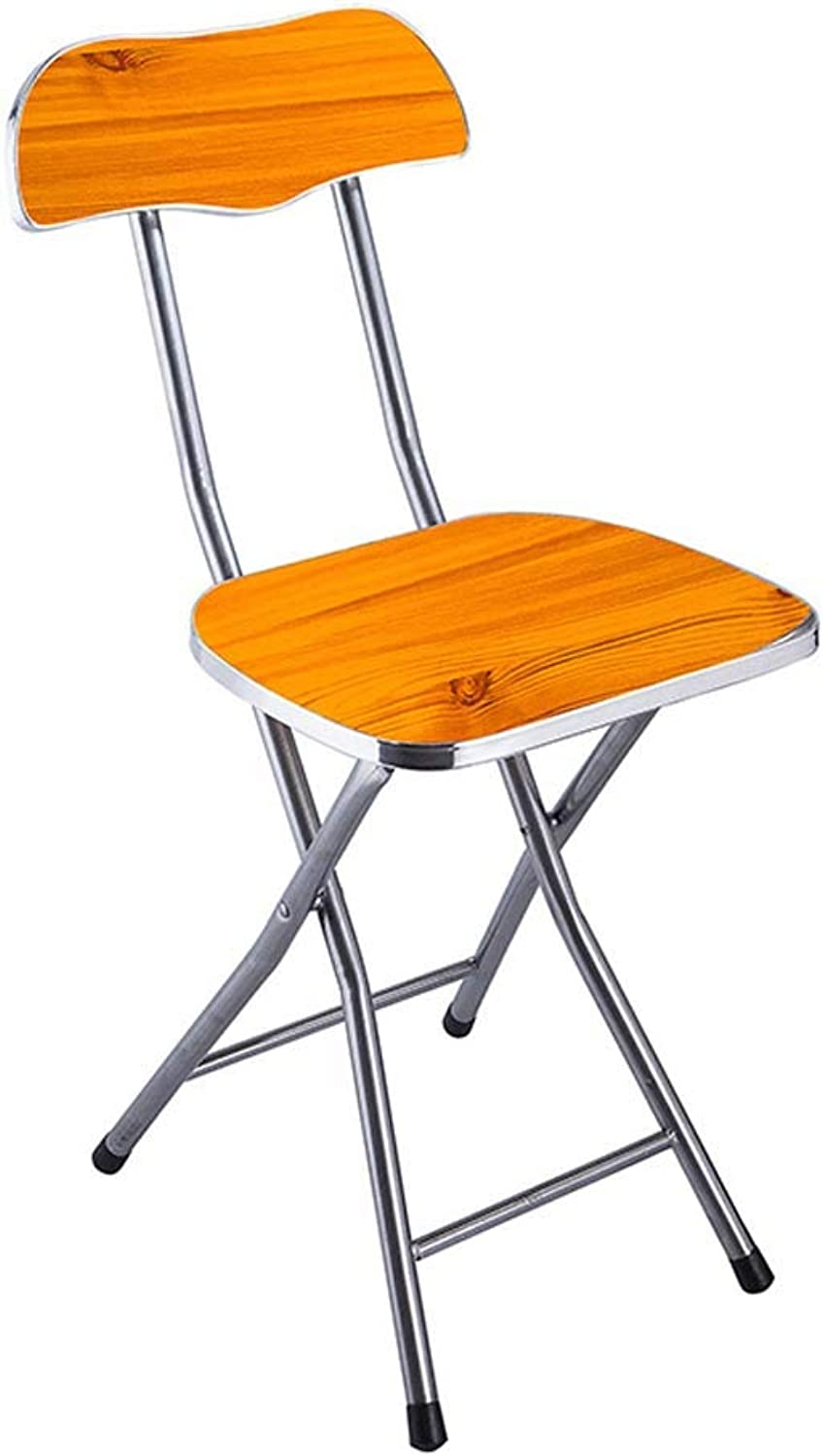 Folding Chair Restaurant Folding Chair Office Meeting Training Wooden Chair Multifunctional Folding Stool
