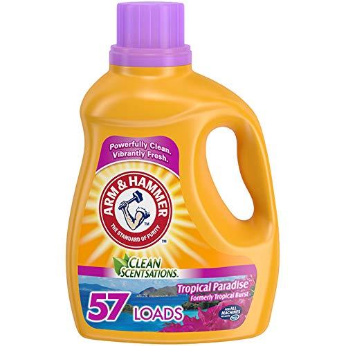 Arm amp Hammer Clean Scentsations Tropical Paradise 57 Loads Liquid Laundry Detergent 1005 Fl oz