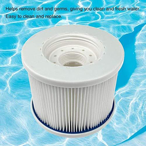 CLIUS Piscine/Spa Filtres, Pool-Cartridges, Nettoyage Facile Hot Tube Filtre pour Piscine Et Spas Ect - A1, Free Size