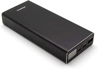 モバイルバッテリー cheero Power Plus 5 Premium 20000mAh with Power Delivery 60W (Black) 大容量 (パワーデリバリー対応) 3ポート出力 USB-A USB-C 対応機種へ超高速充電 iPhone/Android/Galaxy AUTO-IC搭載 PSEマーク付 CtoCケーブル付 CHE-109