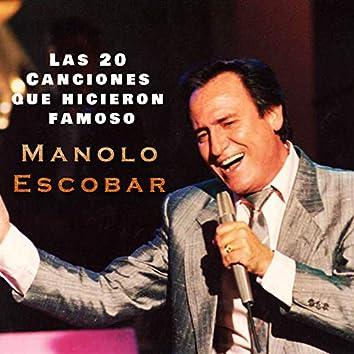 Las 20 Canciones Que Hicieron Famoso a Manolo Escobar