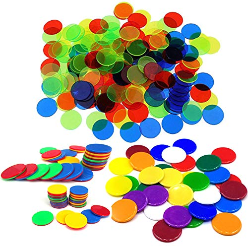 mächtig der welt Xinlie Count Spiel Token Plastik Token Marker Count Marker Transparenter Farbzähler Plastik…
