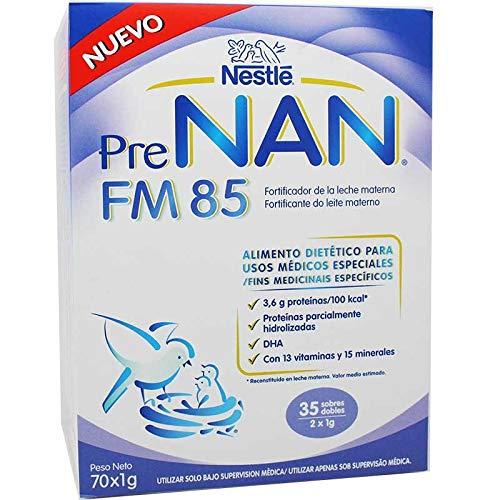 NESTLE PRE NAN FM 85 LECHE MATERNA 70 GR PARA2