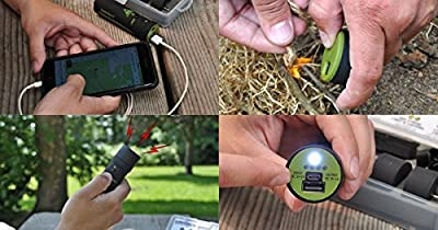 SurviVolts Power Bank and Mult-E-Tools: Survival Tool/ Emergency Preparedness Kit. Power Bank Plus USB Attachment Tools. Ultimate Outdoor Backpacking Hiking Camping Multitool! by Seattle Sports