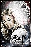 Cimily Buffy The Vampire Slayer illutration II Zinn Retro