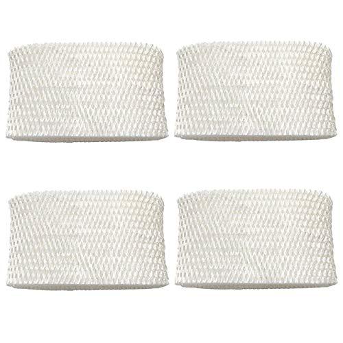 Lot de 4 filtres à mèche pour humidificateur Honeywell HAC-504, HAC-504AW, HAC504V1, HCM-350 Filtre A