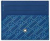 Montblanc M_Gram 4810 Pocket 6cc LBL, Portadocumenti Uomo, Blu, Taglia Unica