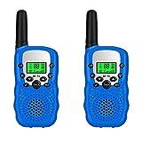 Walkie talkie para niños 16 Canales Radio de 2 vías Kids Toys Wireless Mini 0.5W BF-T3 Larga Distancia para Ciclismo y Senderismo de Supervivencia en el Campo