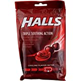 Halls Triple Soothing Action - Cherry 30 Drops (Pack of 2)