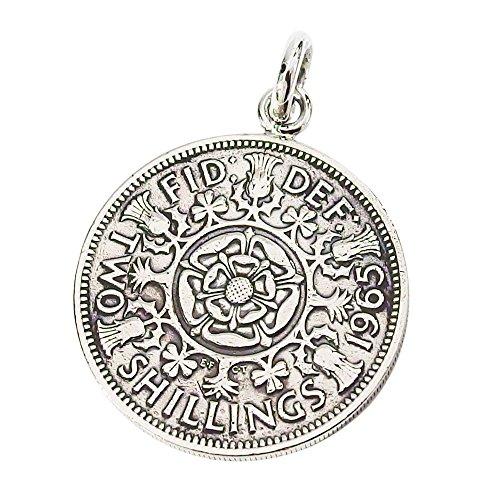 本物のイギリスのコインペンダント(3) コイン 硬貨 アクセサリー メンズ レディース 海外