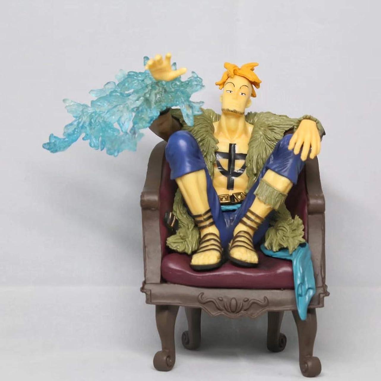 構成歯車クリケットフェニックス鳥のマルコ、座って、フィギュア玩具コレクション像、アニメワンピースモデル、像のおもちゃモデル装飾(15cm) SHWSM