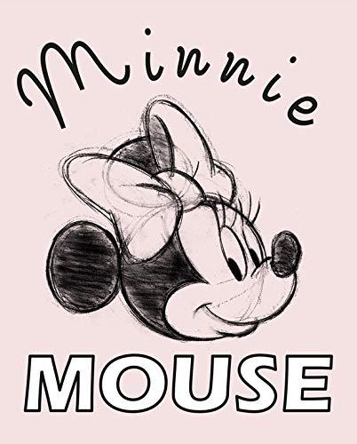 Grupo Erik Erik C20X25CM001 Cuadro Lienzo Canvas Disney Minnie Mouse 20x25 cm, Rosa