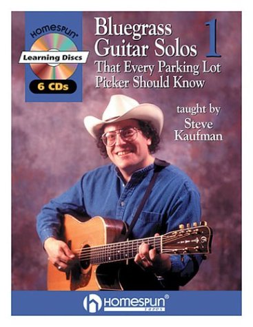 Bluegrass Guitar Solos That Every Parking Lot Picker Should Know (Series 1) 6 CD [With 6 CDs] (Homespun Learning Discs)