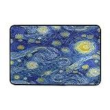 Use7 Vinatge Van Gogh - Felpudo de Pared (60 x 40 cm, Pintura al óleo, para Interiores y Exteriores)