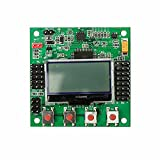 ELBOTICS KK 2.1.5 Multi-rotor LCD Flight Controller with MPU Best for Quadcopter Firmware version: 1. 6: Pre-installed firmware., Dualcopter, tricopter, y6 Weight: 20 grams Input Voltage: 4.8-6.0V IC: Atmega644 PA, LCD size: 24*18mm