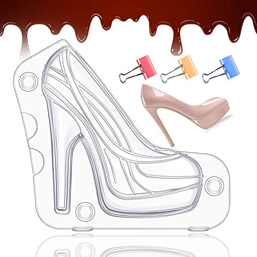 High Heel Chocolate Mold 3d Shoe Ca…