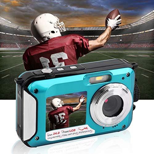 Fotocamera digitale impermeabile per snorkeling Videoregistratore 24 MP Full HD M8603