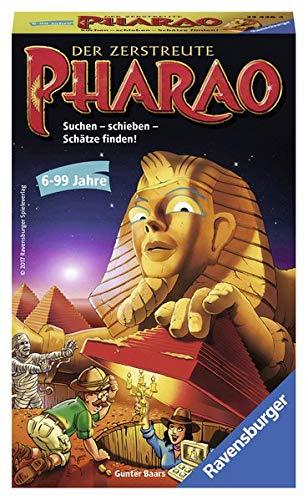 Der zerstreute Pharao: Suchen - schieben - Schätze finden!