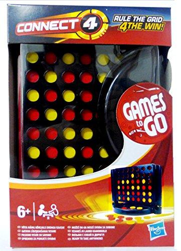 Connect 4 / Vier Gewinnt Kompakt Reisespiel Mitnehmspiel