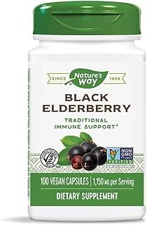 Nature's Way Elderberry, 100 Cap, (Pack of 2)