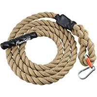 Perantlb 10ft Outdoor Climbing Rope With Hook