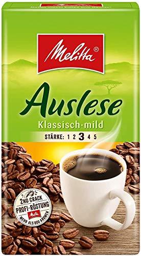 Melitta Auslese klassisch-mild Filterkaffee 9x 500g (4500g) - Melitta Café gemahlen