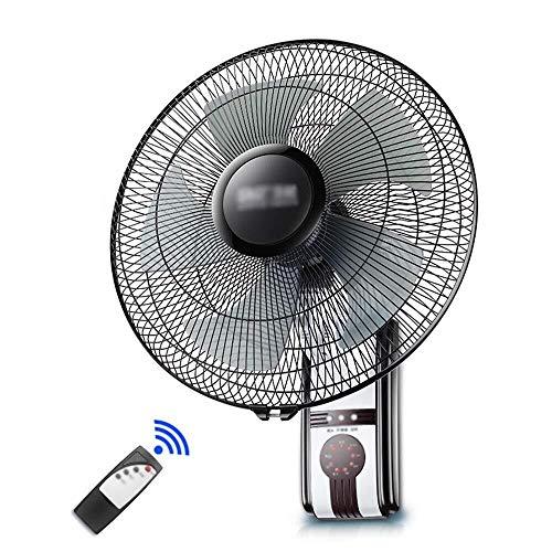 J+N Fernbedienung Wandventilator Pinnwand Fan - Home Restaurant Schlafwand Fan Desktop-Fan 16 Zoll DREI-Geschwindigkeit Windgeschwindigkeit Bass Squelch elektrischen Ventilator Wand montierten Lüfter
