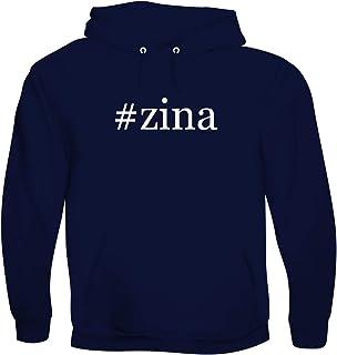 #zina - Men`s Hashtag Soft & Comfortable Hoodie Sweatshirt Pullover