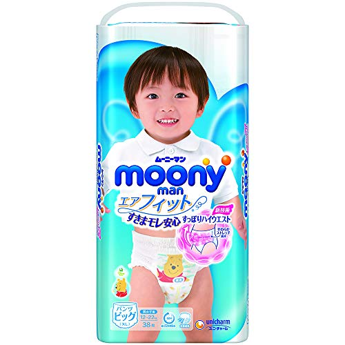32psc ////японские трусики Moony Natural PBL 32psc 12-17 kg 12-17 kg Couches culottes Moony Natural PBL japonais 32psc////Japanese Pull Up Diapers Moony Natural PBL 12-17 kg