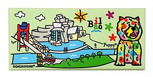 DONSOUVENIR MAGNETICO Puppy Bilbao Big IMAN