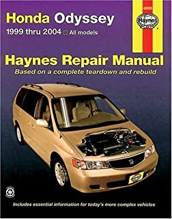 Best 1999 honda odyssey service manual Reviews