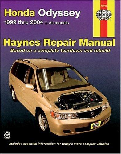 Honda Odyssey 1999 Thru 2004: Automotive Repair MAnual