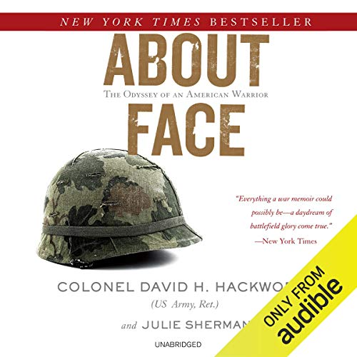 About Face audiobook cover art