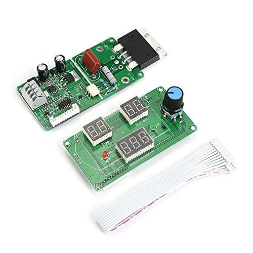 Placa controladora de soldadura por puntos 40A / 100A 9-12VAC, placa de control de soldadura por puntos, pantalla digital eléctrica para soldador de batería simple DIY(100A)