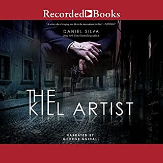 The Kill Artist                   By:                                                                                                                                 Daniel Silva                               Narrated by:                                                                                                                                 George Guidall                      Length: 11 hrs and 35 mins     4,062 ratings     Overall 4.2