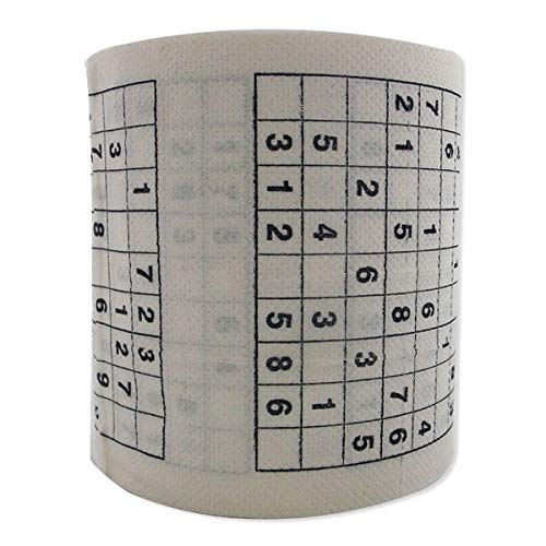 Papel higiénico con diseño de Sudoku-Impresión