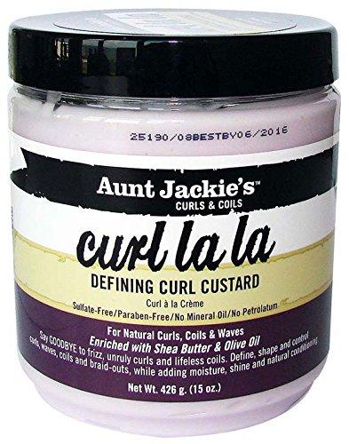 Aunt jackie' S 034285696184crema de definición de pendientes Curl la la, 426g–Lote de 2