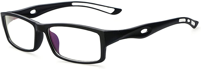 D.King Women Fashion Retro Unisex Plastic Fashion Clear Lens Glasses