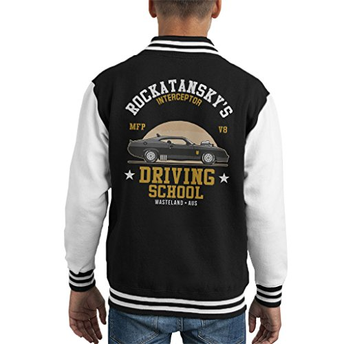 Cloud City 7 Mad Max Rocktanskys Driving School Kid's Varsity Jacket