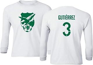 Tcamp Soccer 2019 Bolivia #3 Gutierrez Copa America Youth Long Sleeve Tshirt