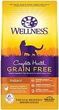 Wellness Complete Health Grain-Free Indoor Deboned Chicken Recipe Dry Cat Food, 5.5 Pound Bag