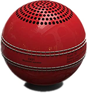New Ideas Cricket Bluetooth Wireless Speaker Elf Mini Portable Bluetooth Ball Speaker,Red