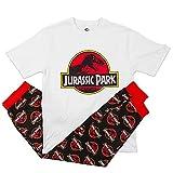 Pijama oficial de Jurassic Park para hombre, manga corta, talla...