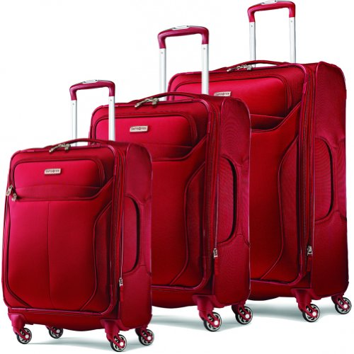 Samsonite Lift2 3 Piece Luggage Set (One size, Red)