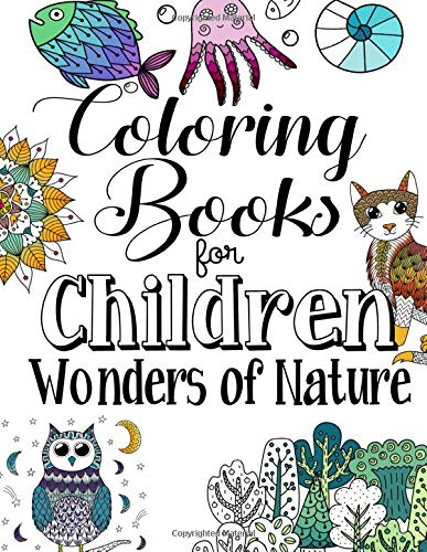 Colouring Books For Children Wonders Of Nature