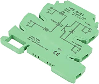 Lazmin Solid State Relay Module, Ultra-Thin 6.2mm DIN MRD-060D2 Relay Module Input 4-32VDC NO