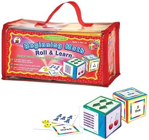 tienda en linea Beginning Math Roll and Learn Pocket Cubes by by by Carson-Dellosa  tienda en linea
